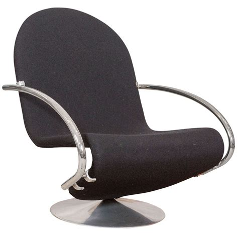verner panton chaise verner panton system 123 model e lounge chair for fritz