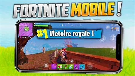 top  sur fortnite telephone iphone  fortnite gameplay