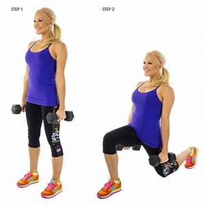 Static lunge with dumbbells | Skinny Mom | Where Moms Get ...