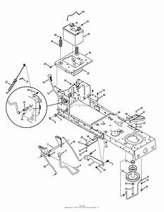 Mtd 13ap79xt099  247 203791   T1900   2015  Parts Diagram For Frame  Battery  U0026 Pto