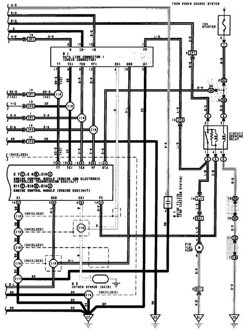 1994 Toyotum Camry Electrical Diagram by How Can I Check The Fuel On A 1994 Toyota Camry To