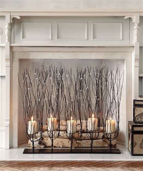 ideas  fake fireplace  pinterest faux