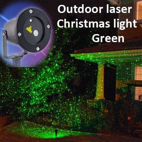 Laser Light Christmas Decorations