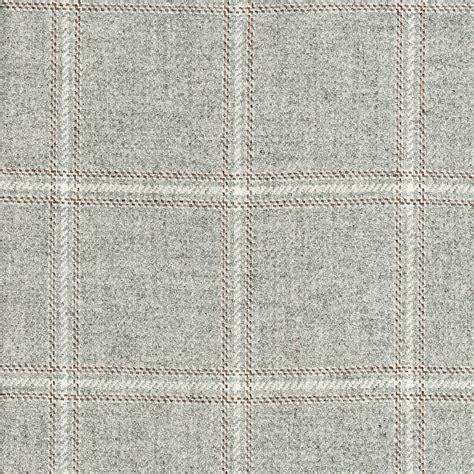 grey upholstery fabric highcross check marl grey ian sanderson upholstery and