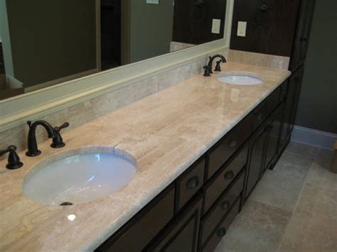 vanity deano reale marble traditional bathroom new