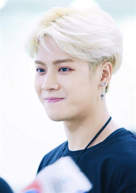 GOT7 JACKSON'S BLONDE HAIR   Kpop Korean <a href=
