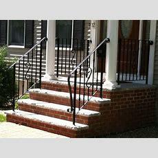 Exterior Wrought Iron Railing Stair  Exterior Wrought