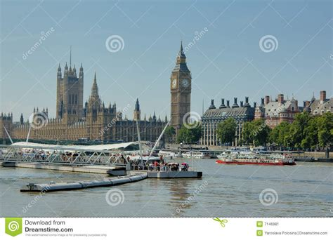 Boats On The Thames by Boats On The Thames Stock Image Image 7146981