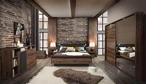 Forte Jacky Schlafzimmer Eiche mit Schrift Möbel Letz