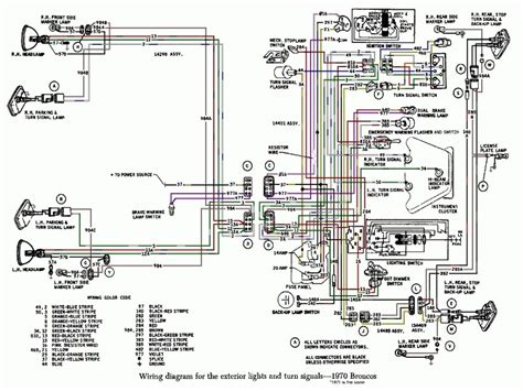 Ford Bronco Wiring by 1975 Ford Bronco Wiring Diagram Lighting Wiring Forums