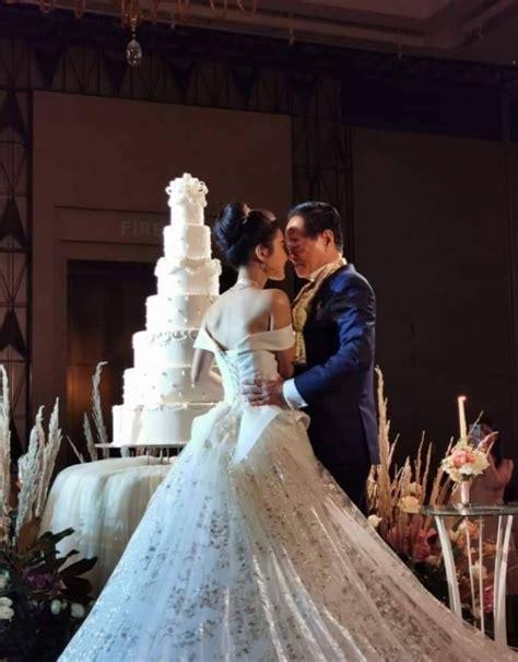 lavish wedding   year  groom marries   year