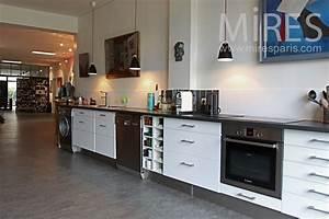 Mitigeur Cuisine Ikea : cuisine design en longueur pr l vement d ~ Zukunftsfamilie.com Idées de Décoration