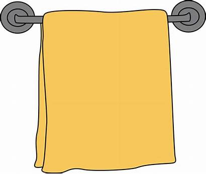 Clip Rack Towel Clipart Bathroom Bath Cliparts