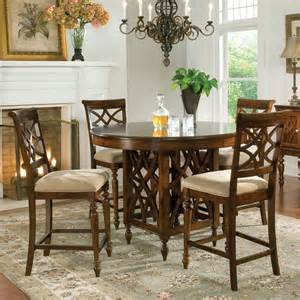 standard furniture woodmont 5 counter height dining room set beyond stores