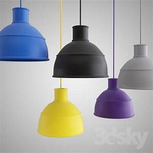 3d models ceiling light muuto unfold pendant lamp With lamp light vray