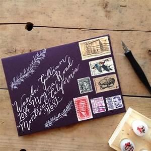 custom calligraphy envelope addressing handwritten With wedding invitations addressed by hand