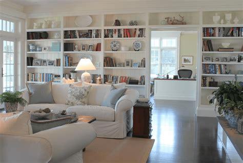 beautiful living rooms  built  shelving