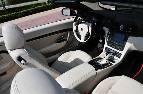maserati granturismo convertible red interior maserati granturismo convertible interior gallery