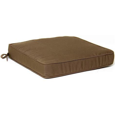 brown outdoor patio replacement cushions made to order