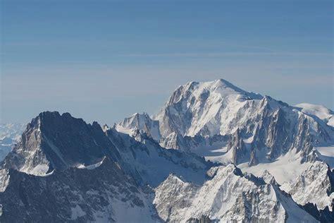 massif du mont blanc les alpes fran 231 aises arts et voyages