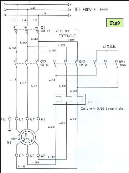 calcul puissance chambre froide démarrage étoile triangle d 39 un moteur électrique