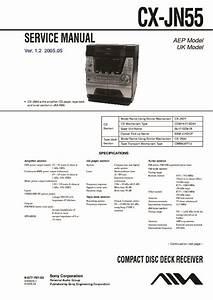 Sony Jax-n5  Jax-pk5 Service Manual