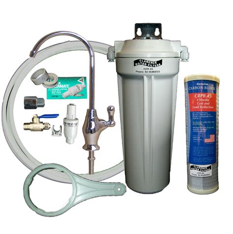 under sink water filtration system clarence water filters australia qmp1 4sus single under