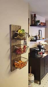 Küche Deko Wand : obstk rbe an der wand k che kitchen k che m bel und deko k che ~ Yasmunasinghe.com Haus und Dekorationen