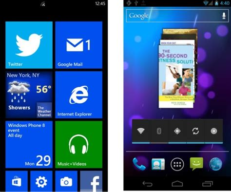 live for android andoroid 4 2 and windows phone 8 features we d like to see