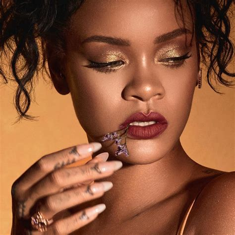 Rihannas Makeup For Fenty Beauty Moroccan Spice