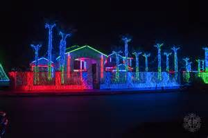 fred loya christmas light show 2012