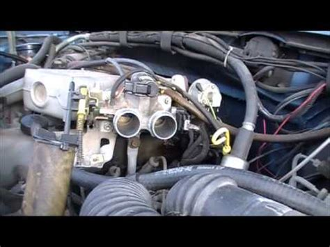 how make cars 1991 ford explorer electronic throttle control cleaning a ford throttle body part two youtube