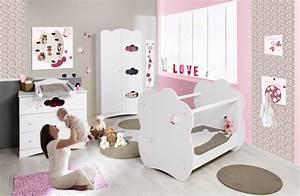 Chambre Bebe Fille Complete : deco chambre bebe fille papillon visuel 1 ~ Teatrodelosmanantiales.com Idées de Décoration