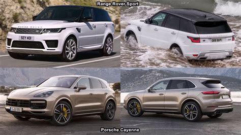 porsche cayenne   range rover sport youtube