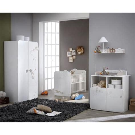 chambre complete cdiscount jungle chambre bébé complète lit armoire commode