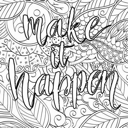 Coloring Inspirational Pages Word Getcoloringpages