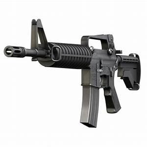 Colt M4 Commando Assault rifle | 3D Weapons | Pinterest ...