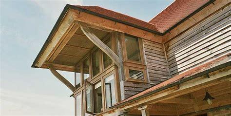 oak frame carpentry company external cladding