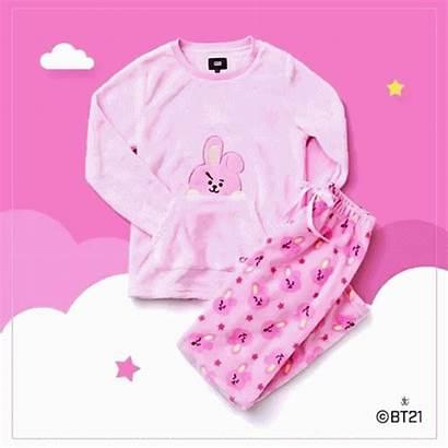 Bt21 Pajama Winter Line Pajamas Bts Merch