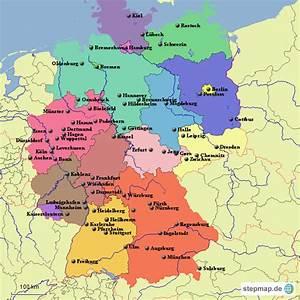 Schönsten Städte Deutschland : landkarte deutschland pictures to pin on pinterest pinsdaddy ~ Frokenaadalensverden.com Haus und Dekorationen