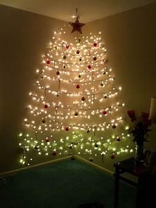 Enliven, The, Christmas, Celebration, Using, Christmas, Tree, Wall, Lights