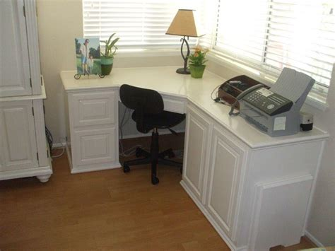 built in corner desk built in desk and home office woodwork creations