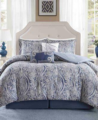 harbor house stella pc paisley print full comforter set
