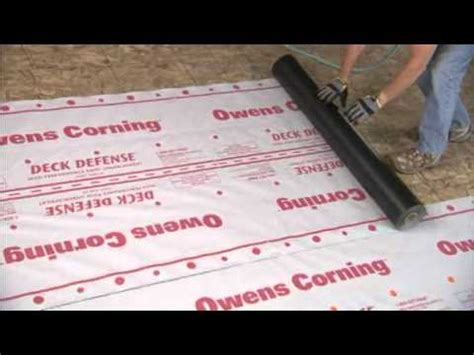 Owens Corning Deck Defense Synthetic Underlayment by Owens Corning Roofing Deck Defense High