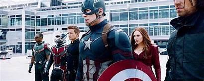 America Captain Civil War Avengers Marvel Team