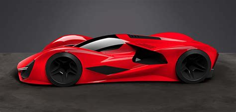 ferrari supercar concept ferrari supercar concepts for 2040 wordlesstech