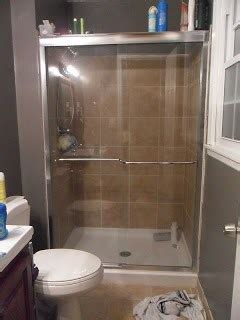 hacks    shower doors clean organization