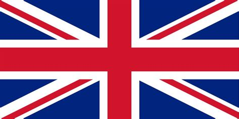 The United Kingdom flag coloring - country flags