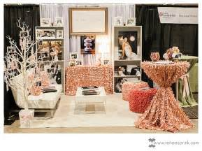 wedding shows pink gold bridal fair booth biz booth bridal show show booth and bridal