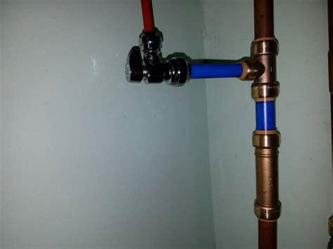 rodi saddle unit valves pressure low pex plumber doubt reef2reef water